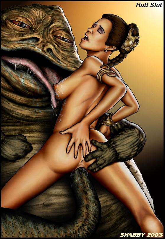 ShabbyBlue 2003 Series- Star War porn comics 8 muses