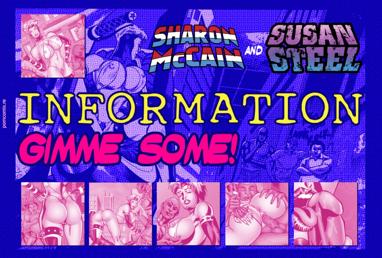 Sharon MacCain in Information- Gimme Some! porn comics 8 muses