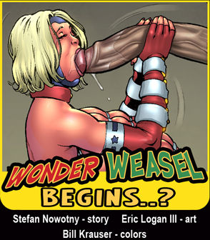 Wonder Weasel Begins..?- Superheroine Comixx image 1