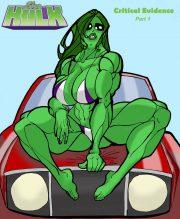 She Hulk- Critical Evidence porn comics 8 muses