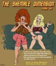 Shemale Dimensione- Dickgirls porn comics 8 muses