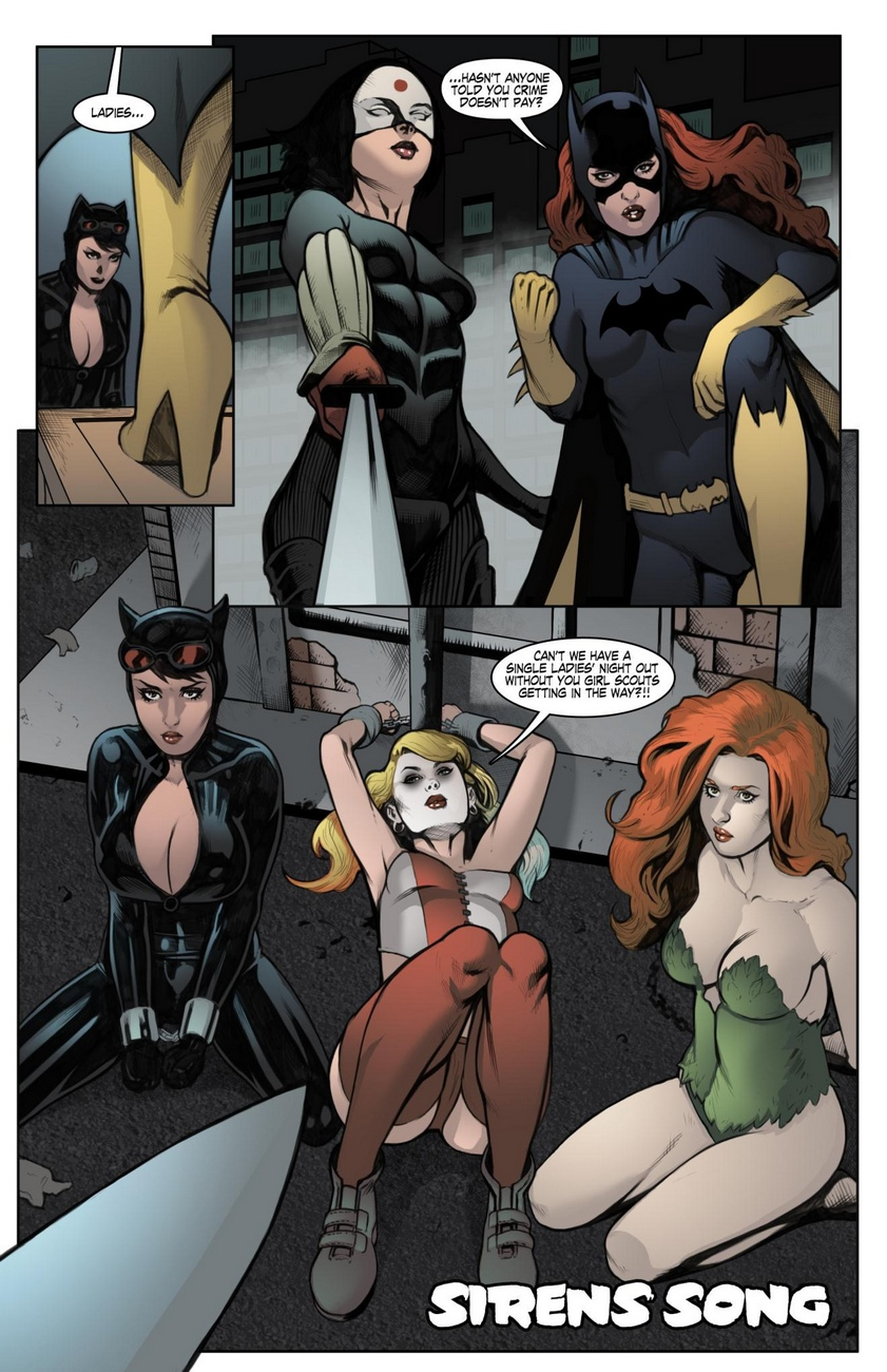 Sirens Song- Superheroes porn comics 8 muses
