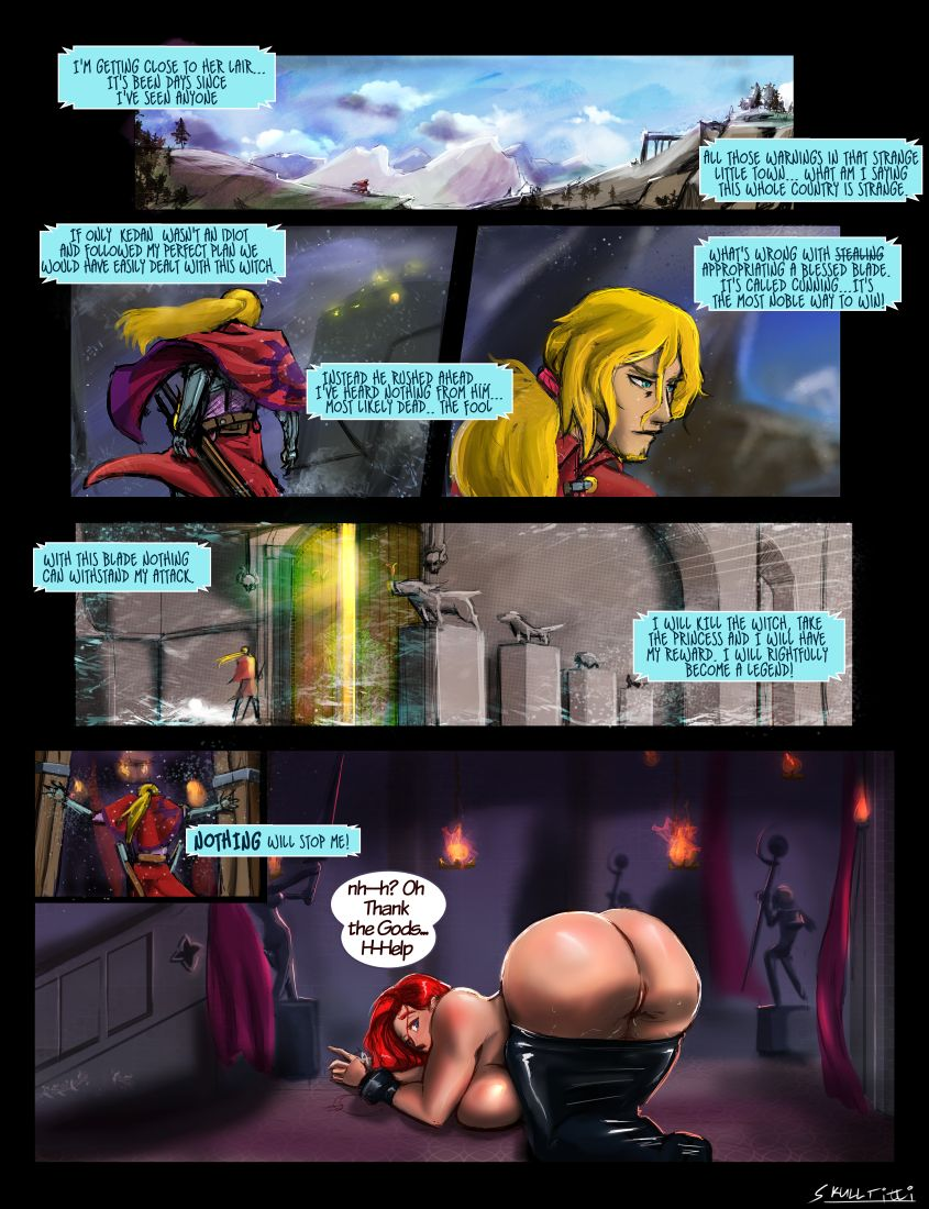 Six Knights and A Witch- SkullTitti porn comics 8 muses