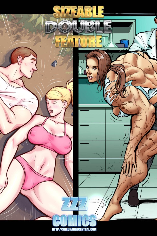 Sizeable Double Feature 1- ZZZ porn comics 8 muses