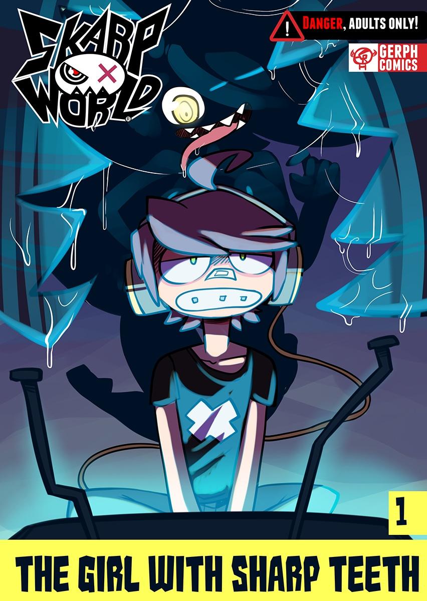SkarpWorld – The Girl with sharp teeth porn comics 8 muses