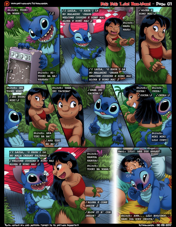 Lilo and Stitch – Miki Miki Lilo Boojiboo porn comics 8 muses