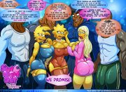 Slut Night Out – Simpsons [Kogeikun] porn comics 8 muses