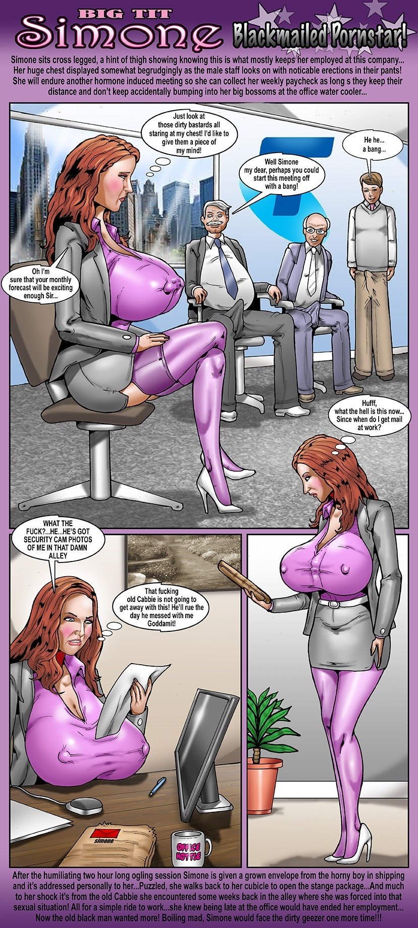 Smudge – Blackmailed Pornstar porn comics 8 muses