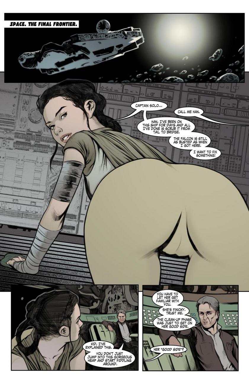 Smugglers's Den- Star Wars porn comics 8 muses