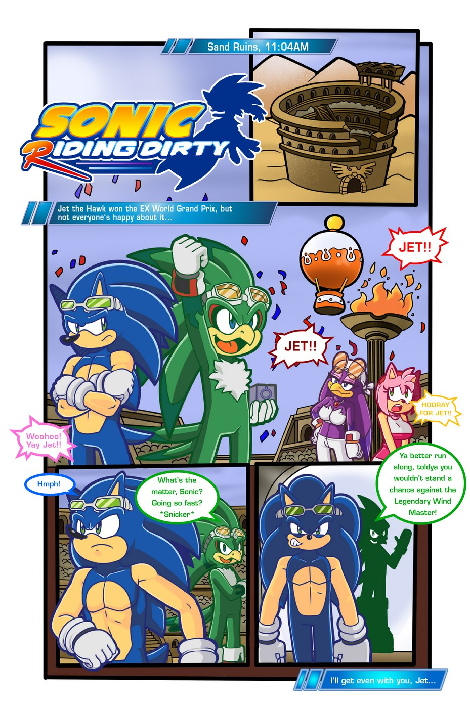 Sonic Riding Dirty- Sonic the Hedgehog porn comics 8 muses
