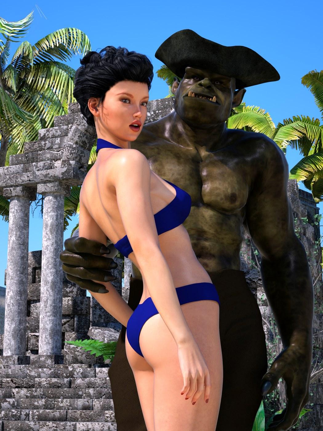 Sorceress Lori – Beach Day Part 3 porn comics 8 muses