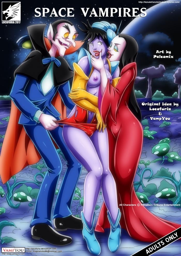 Space Vampires- Palcomix porn comics 8 muses