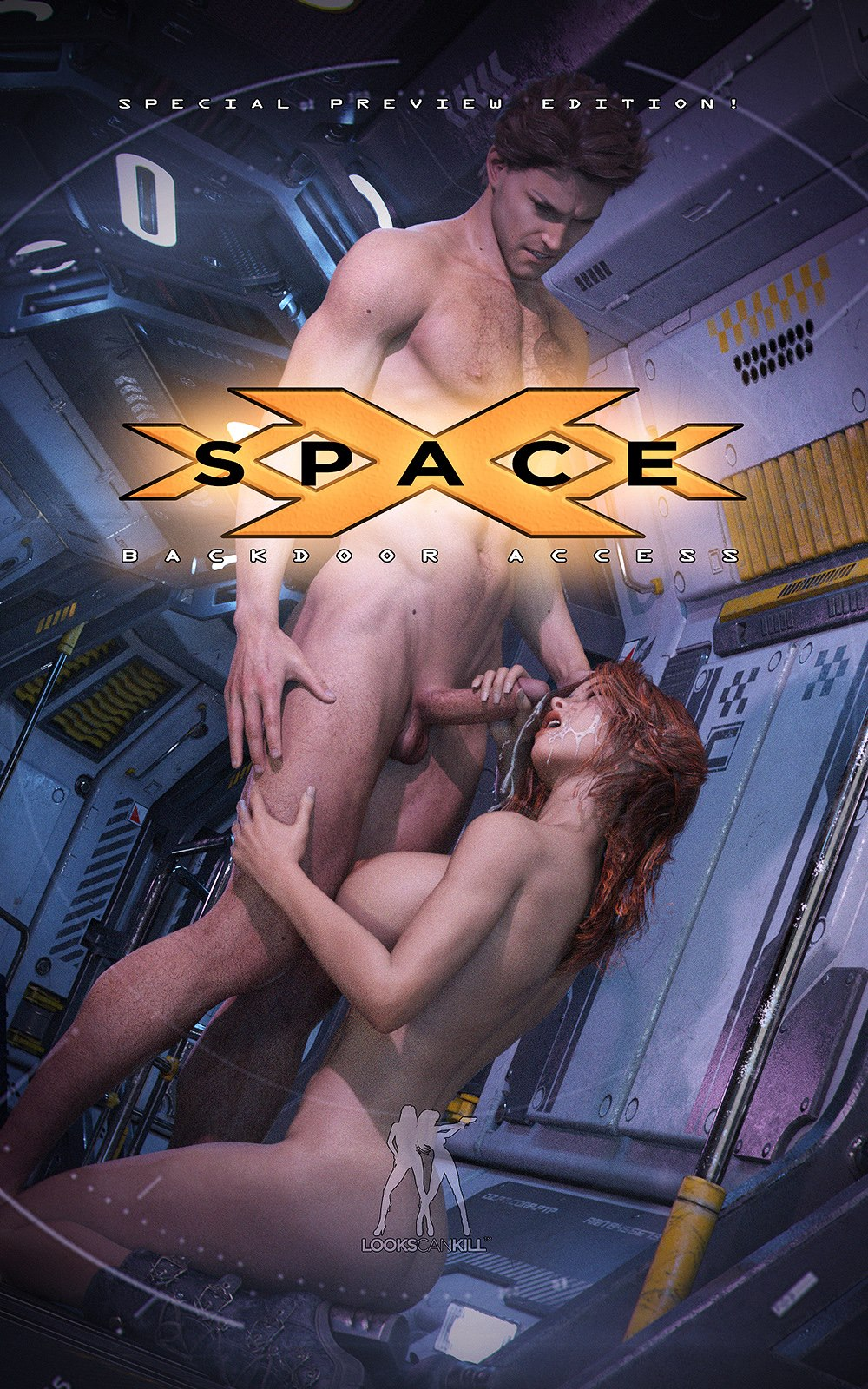 Space XXX – Backdoor Access porn comics 8 muses