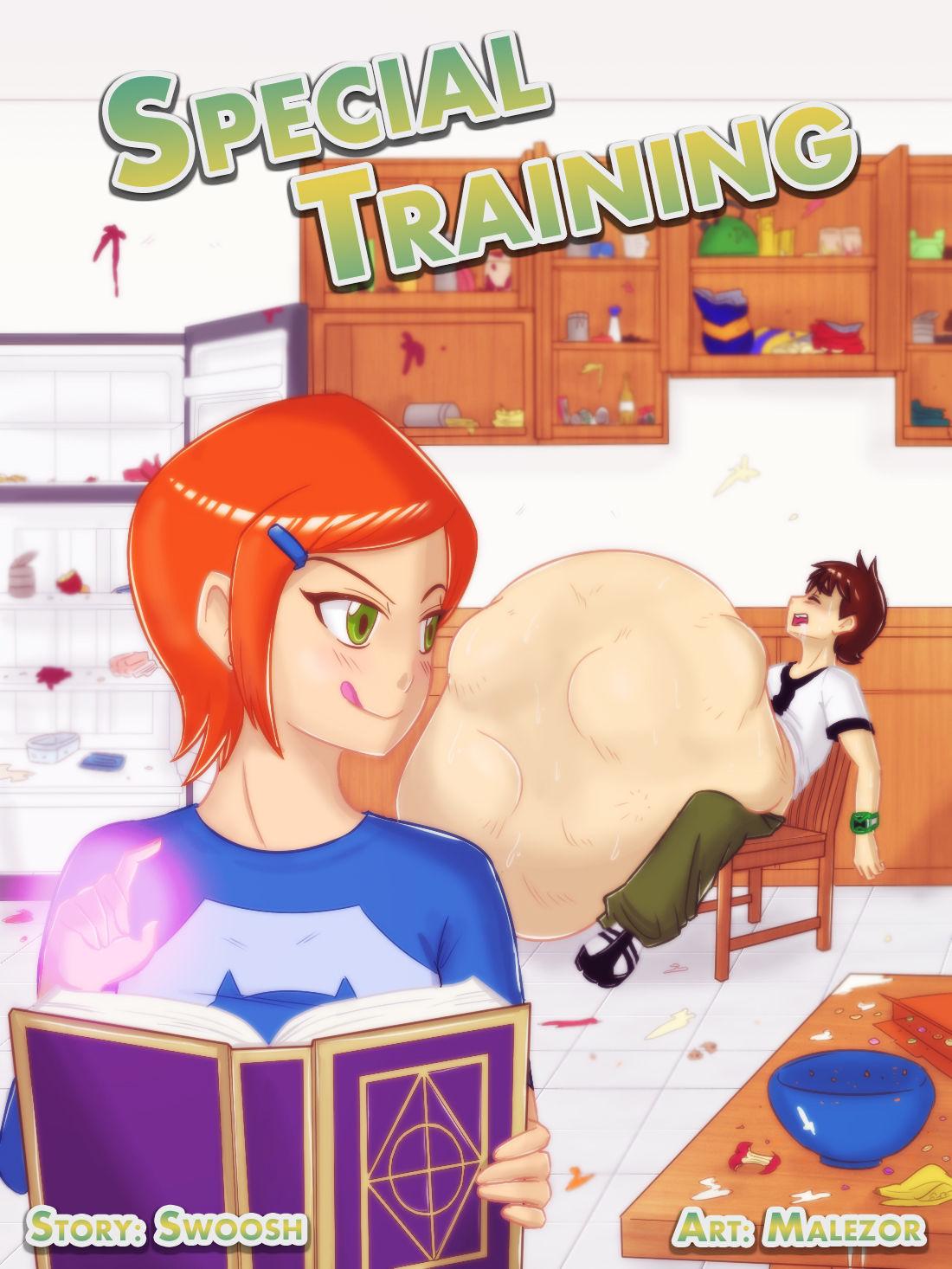 Special Training- Ben 10 porn comics 8 muses