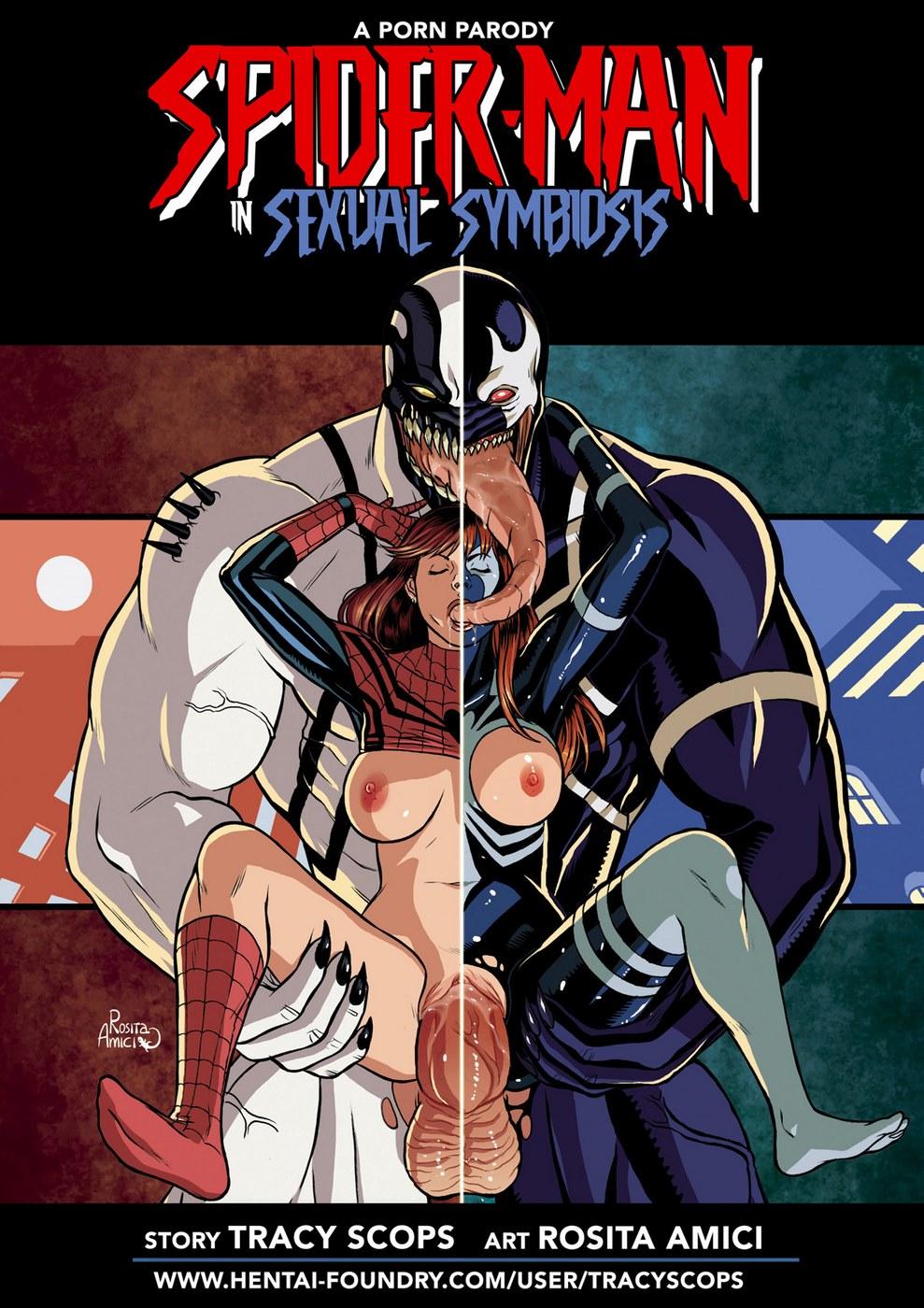 Spider-Man Sexual Symbiosis 1 image 1