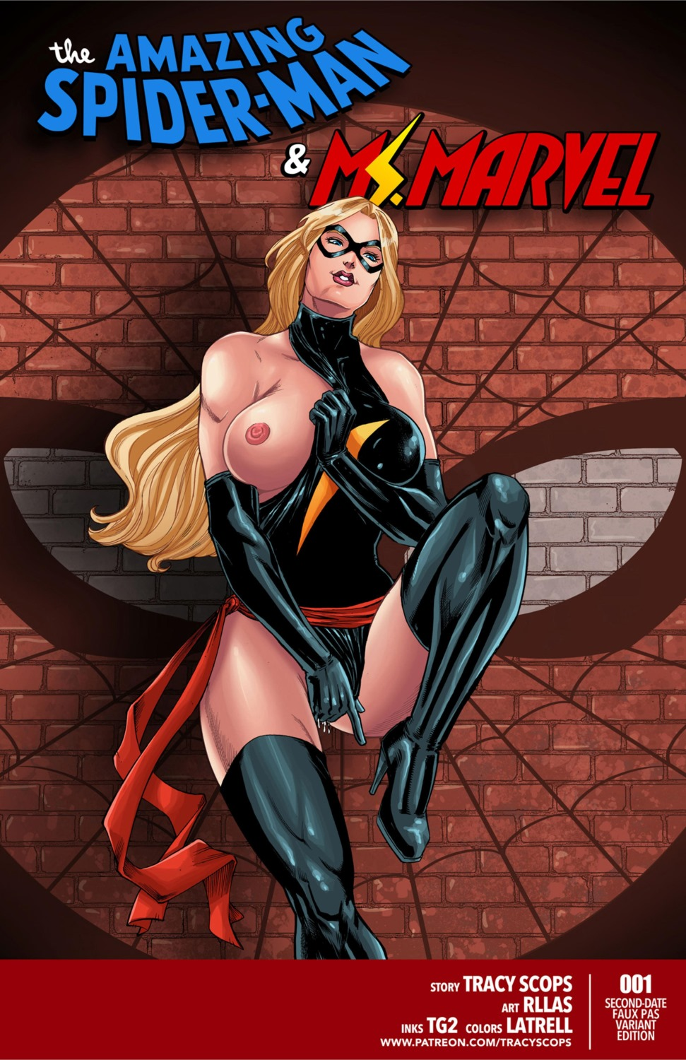 Spiderman & Ms. Marvel – Tracy Scops porn comics 8 muses