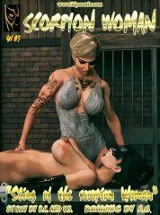 Sting of Scorpion Woman 9 & 10- Hip Comix porn comics 8 muses