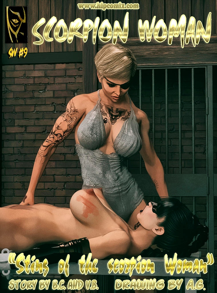 Sting of Scorpion Woman 9 & 10- Hip Comix porn comics 8 muses