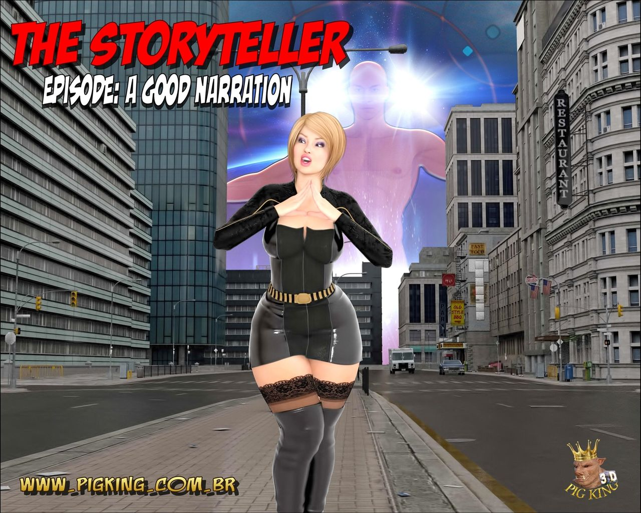 Storyteller- A good Narration,Pig King porn comics 8 muses