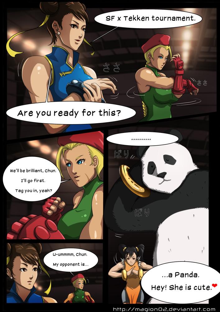 Street Fighter VS Tekken porn comics 8 muses