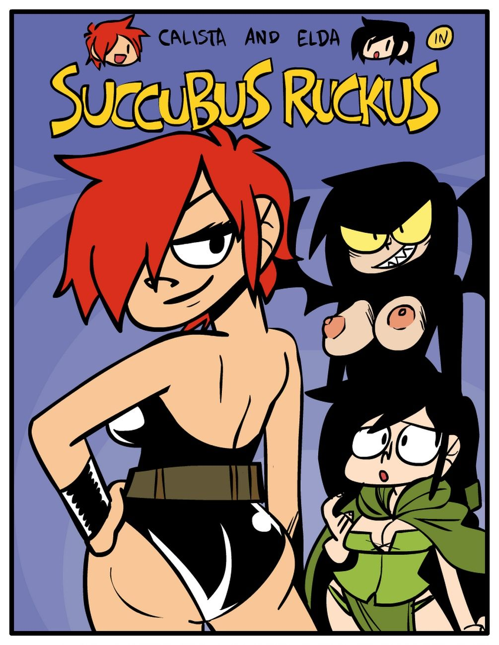 Succubus Ruckus- Calista and Elda porn comics 8 muses