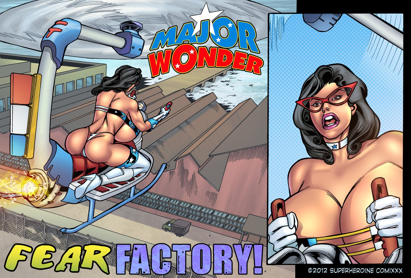 Major Wonder- Fear Factory Raw porn comics 8 muses