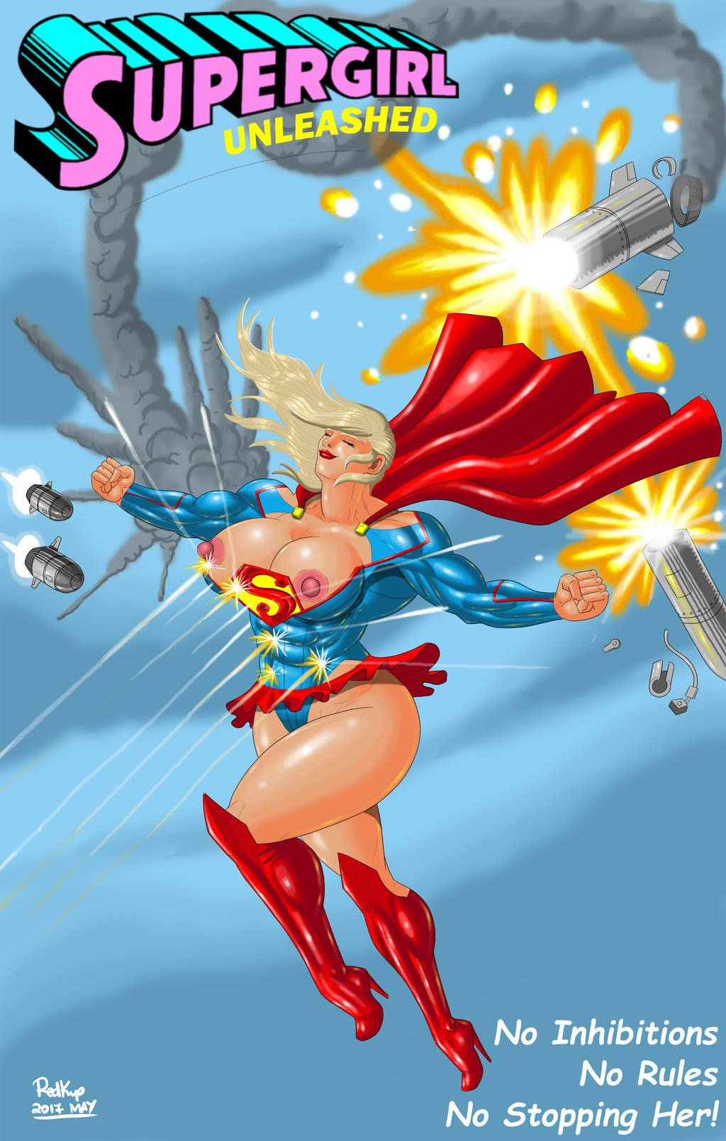 Supergirl Unleashed- Legion Of Super Heroes porn comics 8 muses