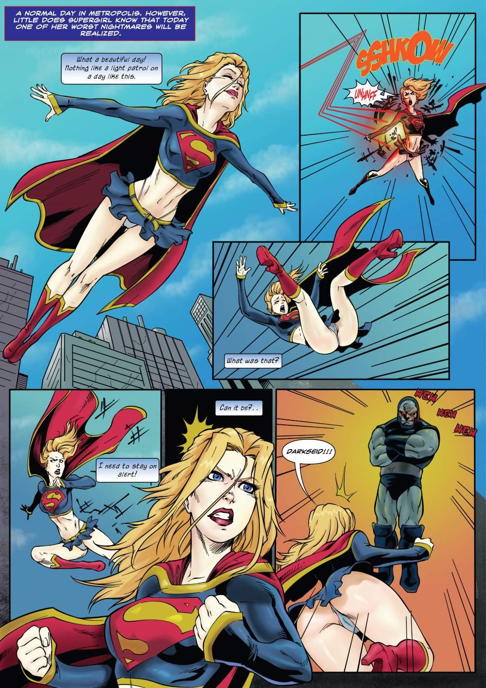 Supergirl's Last Stand (Superman) porn comics 8 muses