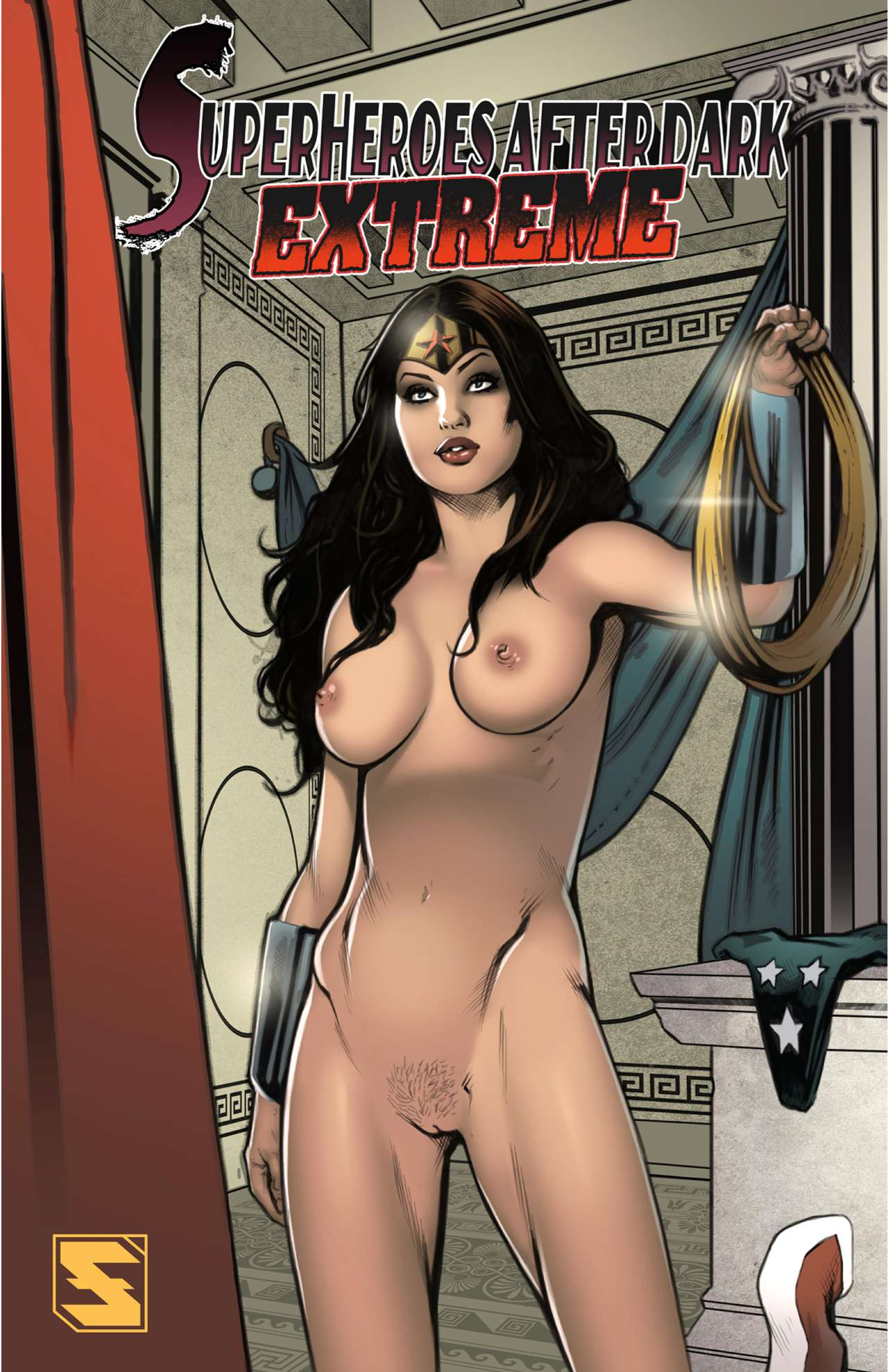 Superheroes After Dark Extreme porn comics 8 muses