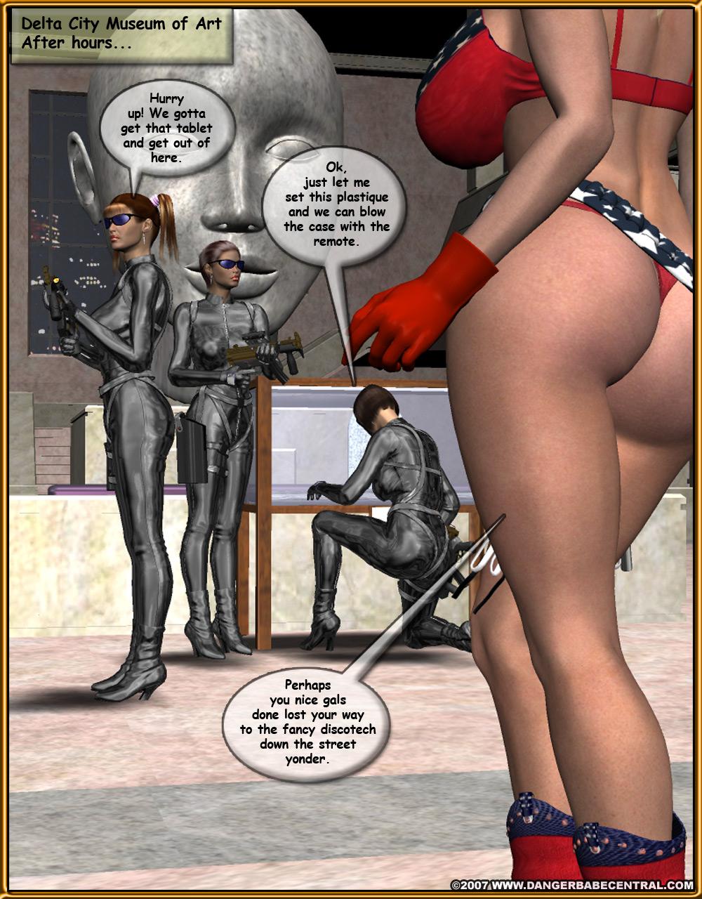 Texas Star- Danger Babe porn comics 8 muses