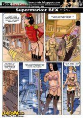 Supermarket Bex porn comics 8 muses