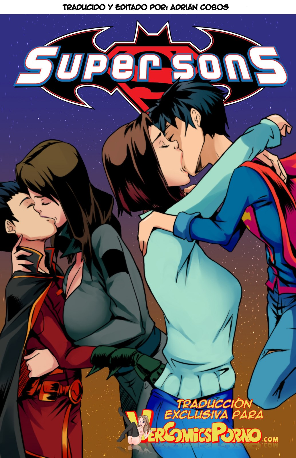superman and superwoman hardcore sex nudity
