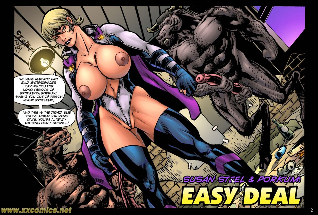 Susan Steel & Porkum- Easy Deal porn comics 8 muses