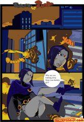 Teen Titans- Raven Vs. Slade 2 porn comics 8 muses