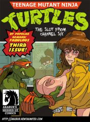 TMNT- The Slut From Channel Six porn comics 8 muses