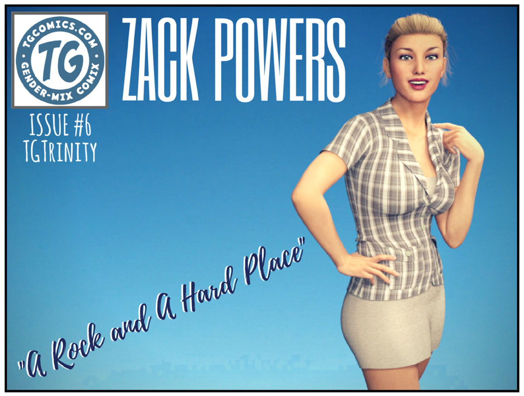TGTrinity- Zack Powers Issue 6 & 7 image 1