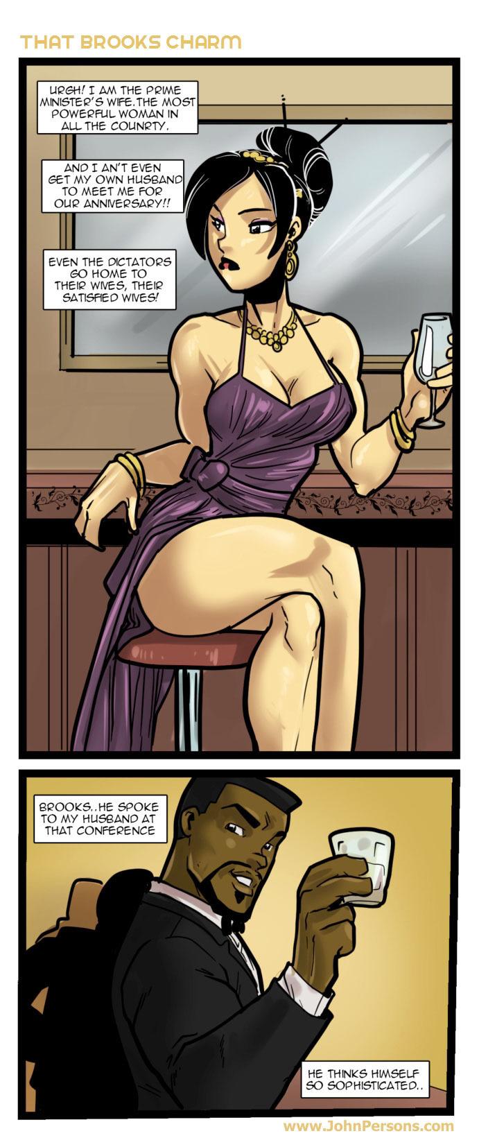 That Brooks Charm- John Persons porn comics 8 muses