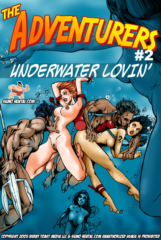 The Adventurers 2- Underwater Lovin porn comics 8 muses