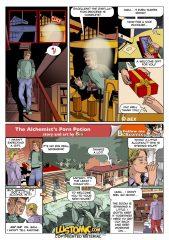 The Alchemist's Porn Potion porn comics 8 muses