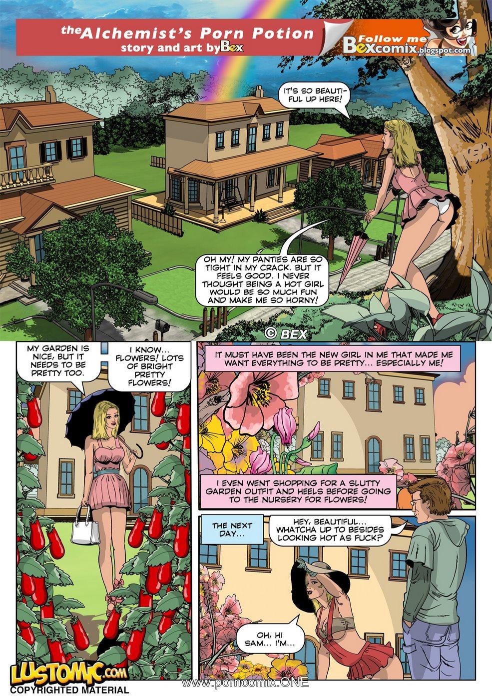 The Alchemist's Porn Potion 2 porn comics 8 muses