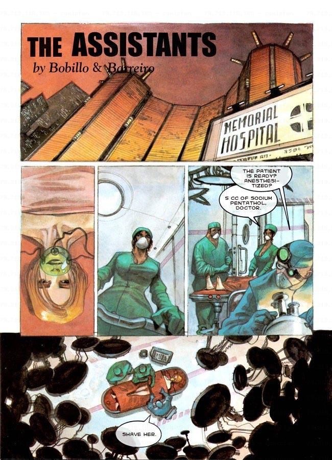 The Assistants- Bobillo & Barreiro porn comics 8 muses