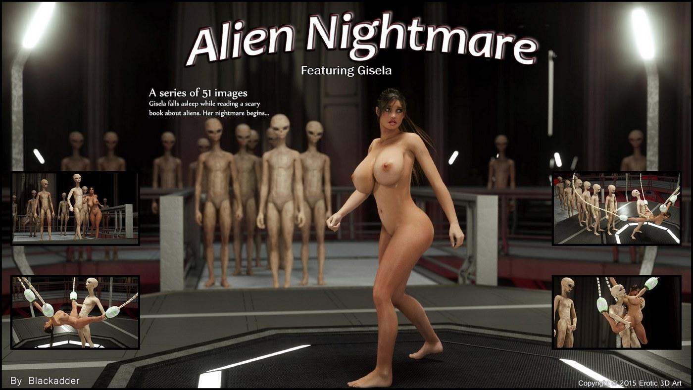 Erotic 3D Art (Blackadder) – Alien Nightmare image 1