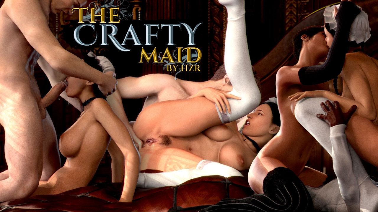 The Crafty Maid- HZR porn comics 8 muses