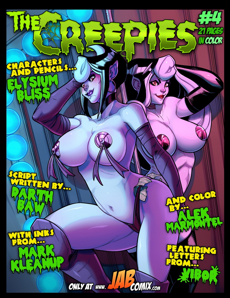 The Creepies 4- Jabcomix porn comics 8 muses