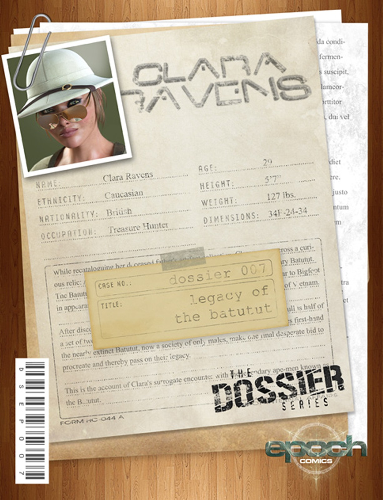 The Dossier 07- Clara Ravens- Epoch porn comics 8 muses