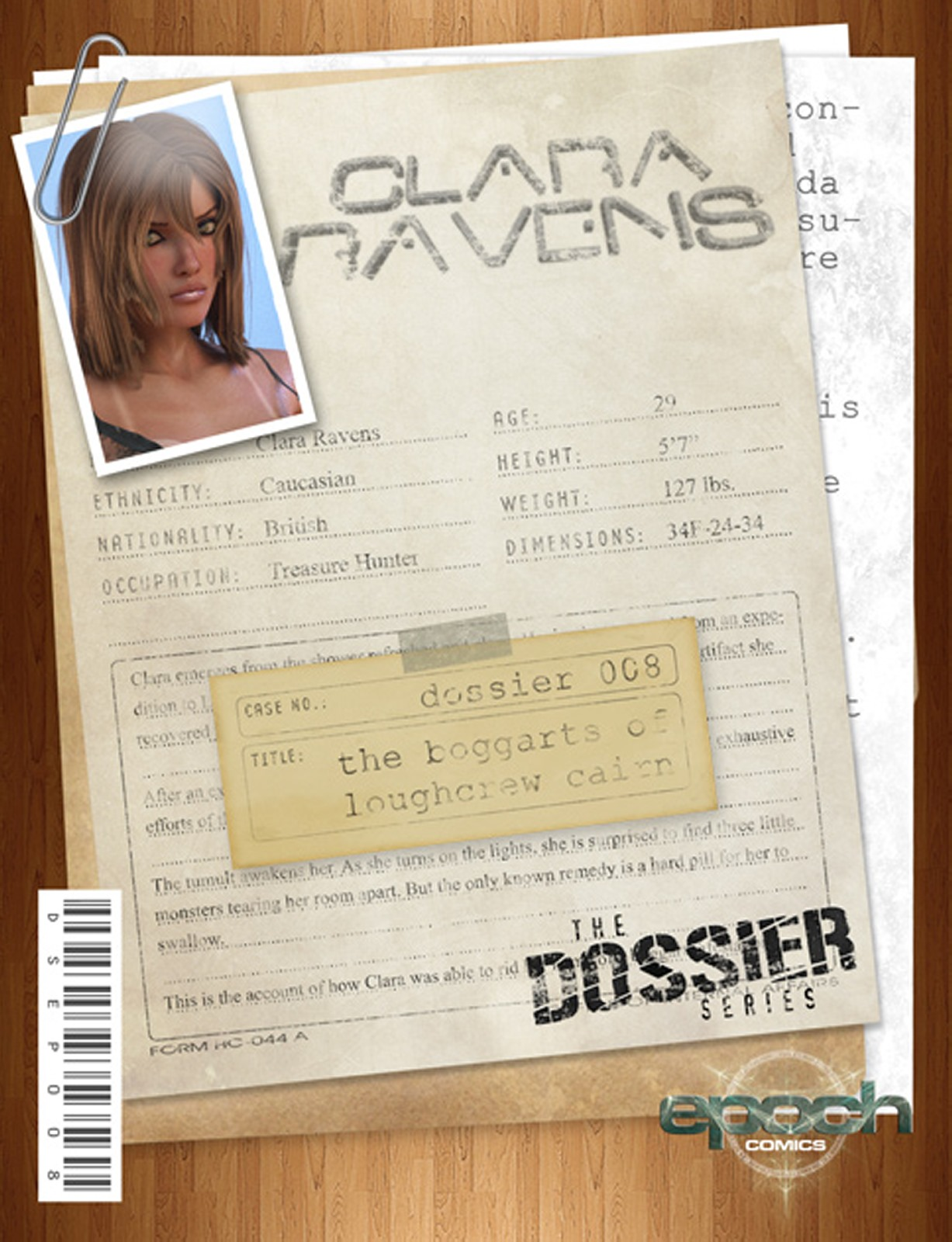 The Dossier 08- Epoch- Clara Ravens porn comics 8 muses