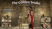 The Golden Snake- Blackadder porn comics 8 muses