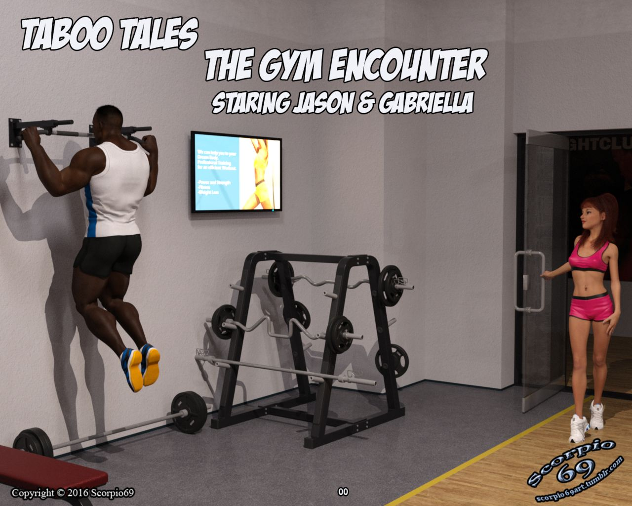 The Gym Encounter- Taboo Tales porn comics 8 muses