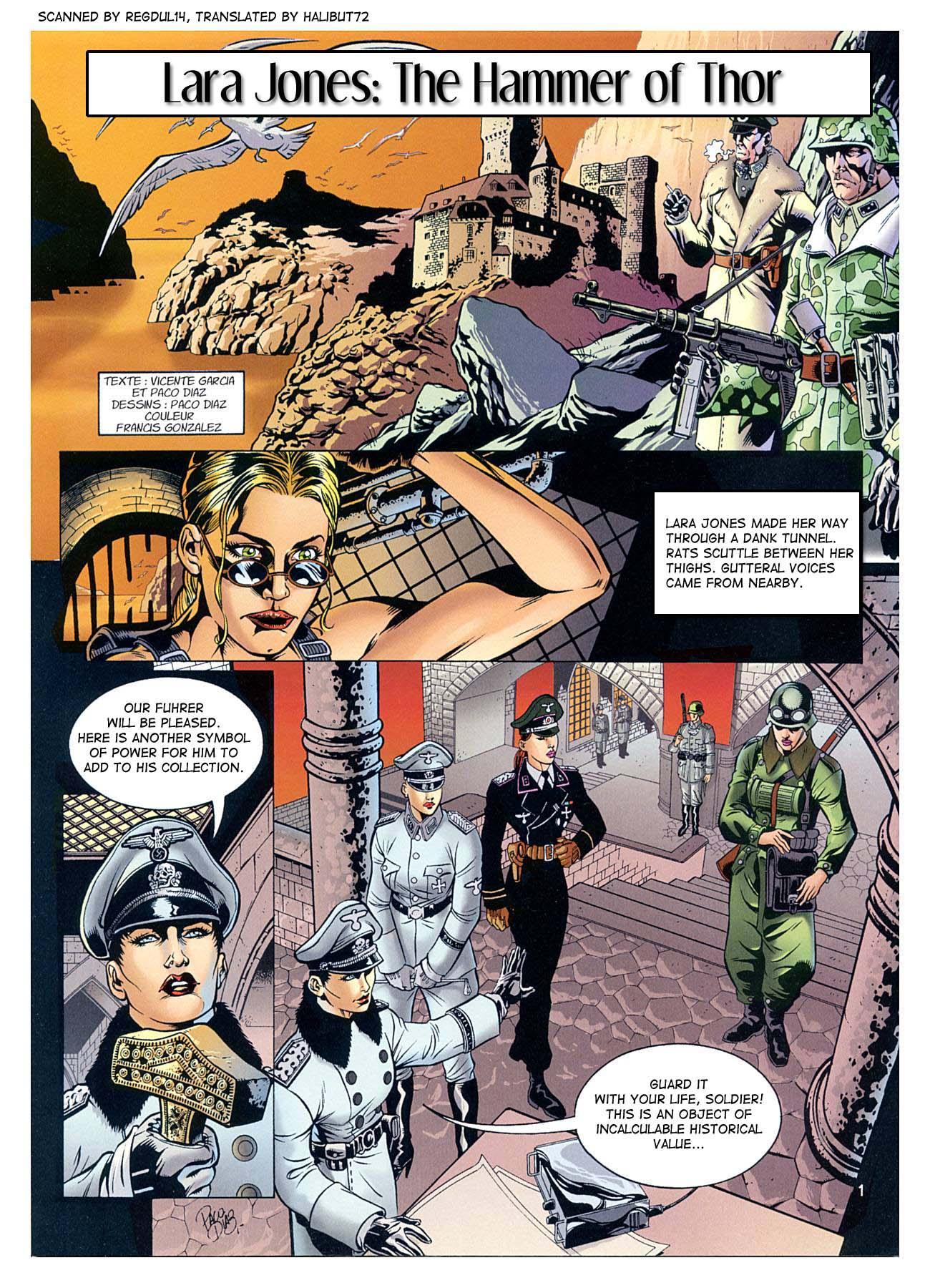 The Hammer Of Thor- Lara Jones porn comics 8 muses