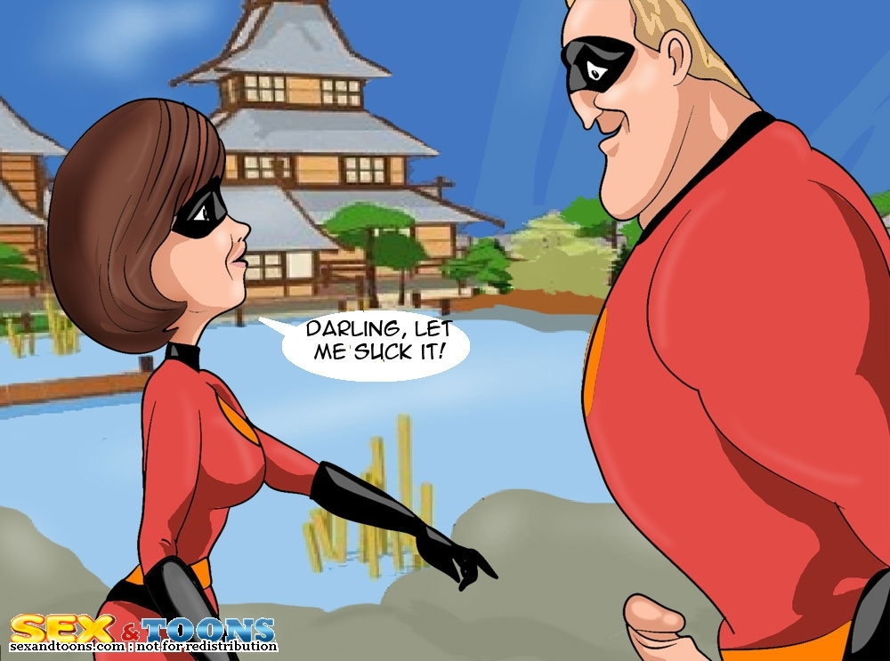 The Incredibles- Let Me Suck porn comics 8 muses